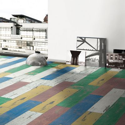 Avatara - retro hout pastel - interieur