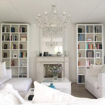 Boekenkasten met vakken