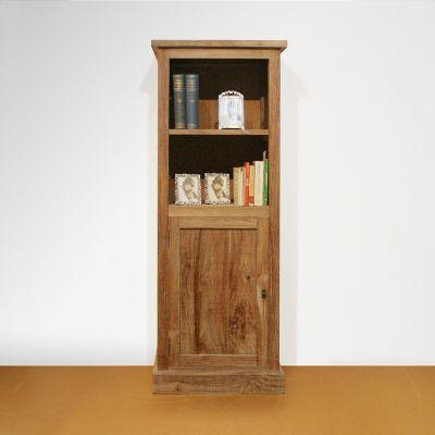 Boekenkast op maat oud teak