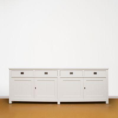 dressoir wit handgeschilderd