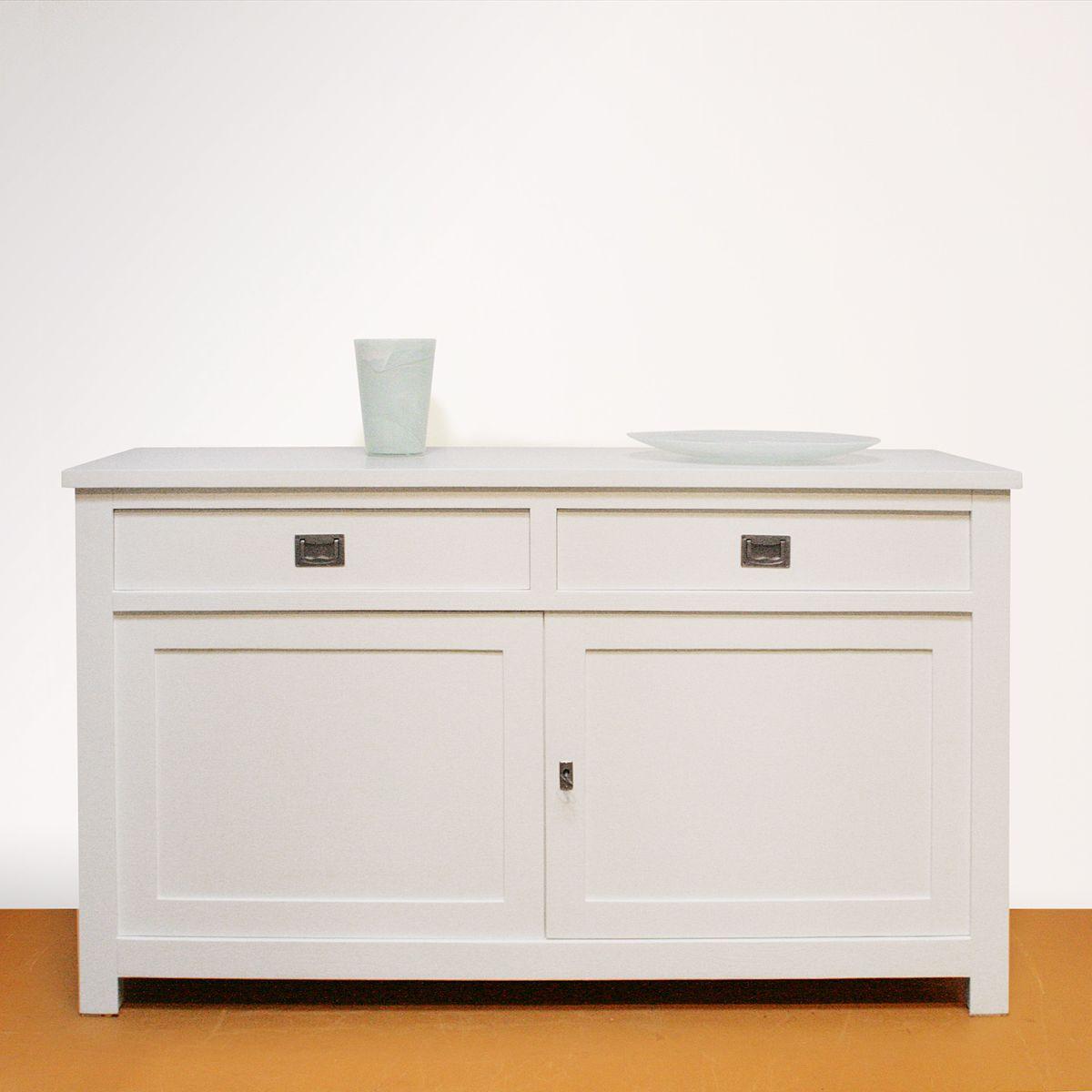Strak wit dressoir gerard keune meubels op maat - Eettafel schans ...