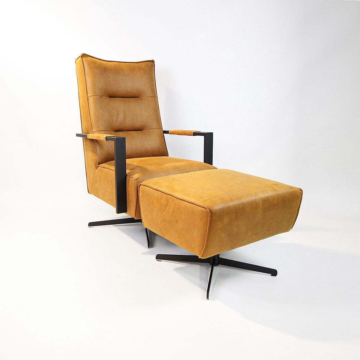 Frederiksborg fauteuil en hocker
