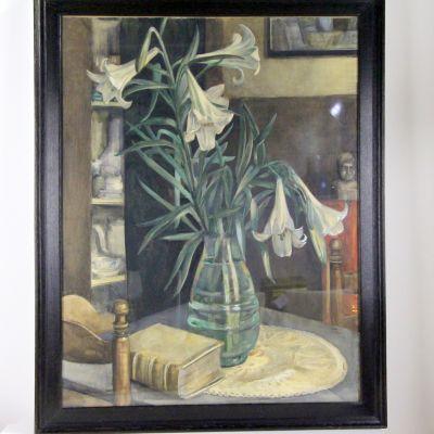 Jan Gregoire - stilleven bloemmotief
