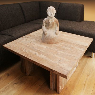 Salontafel teak recycled