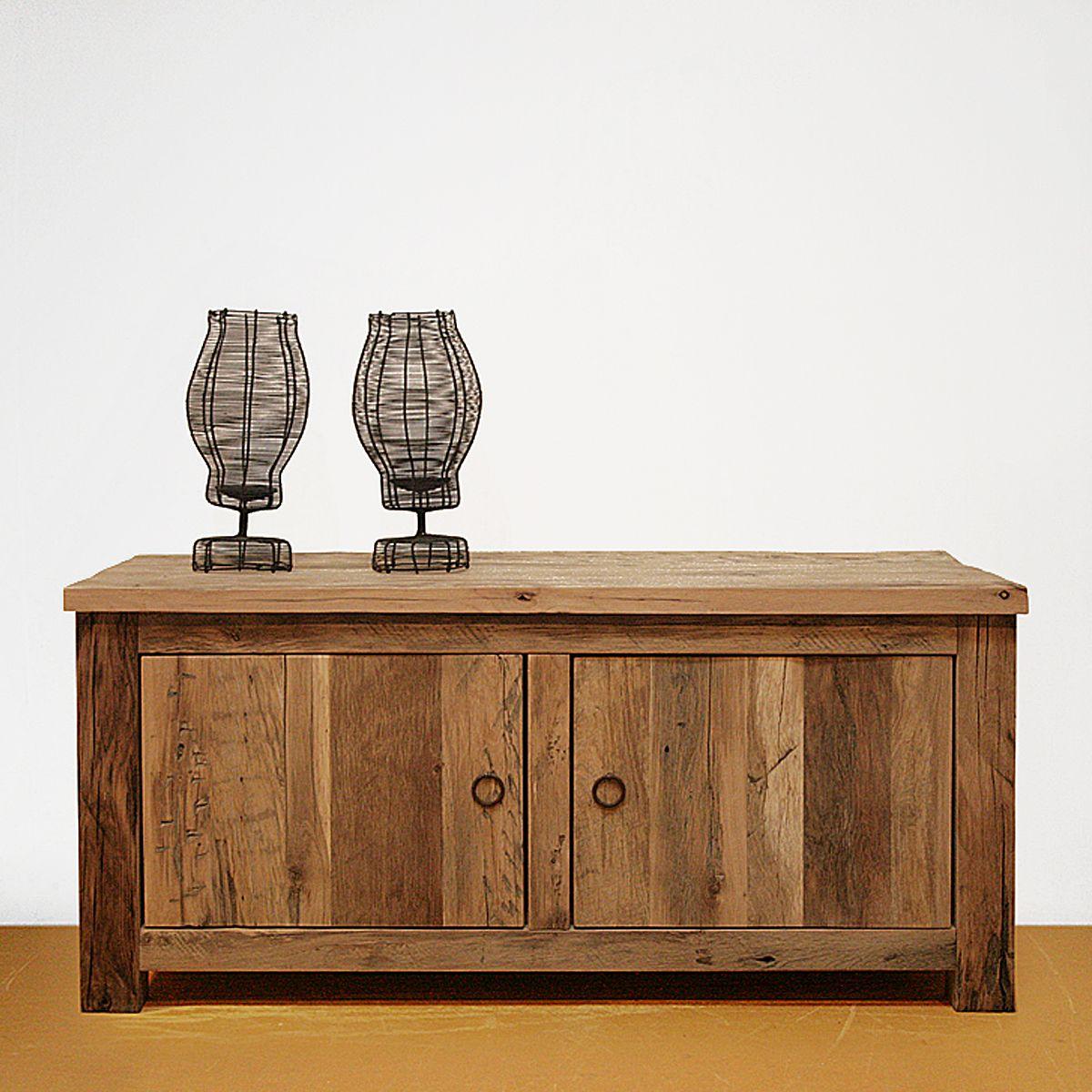 TV dressoir op maat oud eiken 1