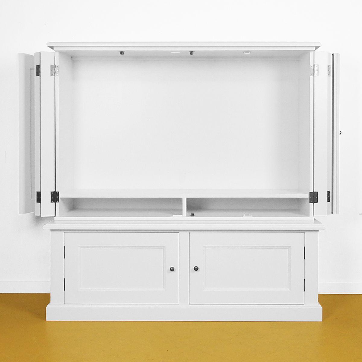 tv kast 4-deurs omslag open