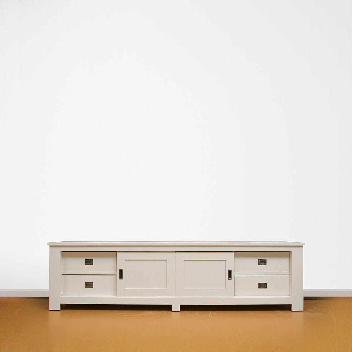 Tv opzetkast schuifdeuren gerard keune meubels op maat - Eettafel schans ...