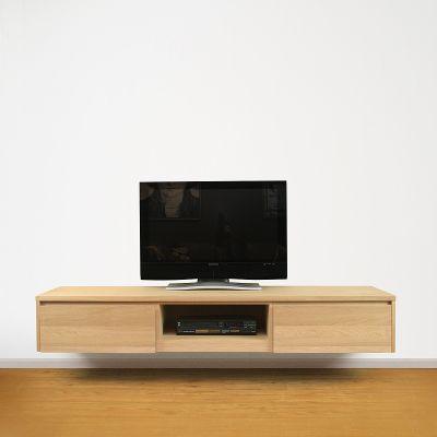 TV opzetkast op maat aan de muur