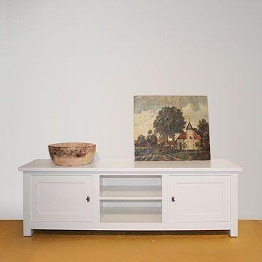 TV opzetkast - hand geschilderd