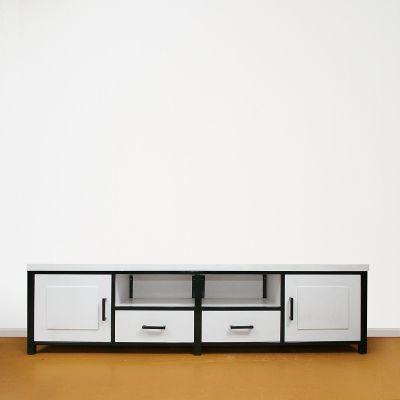 TV opzetkast op maat zwart wit
