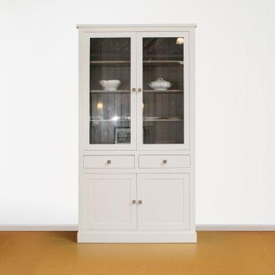 Vitrinekast 4 deurs