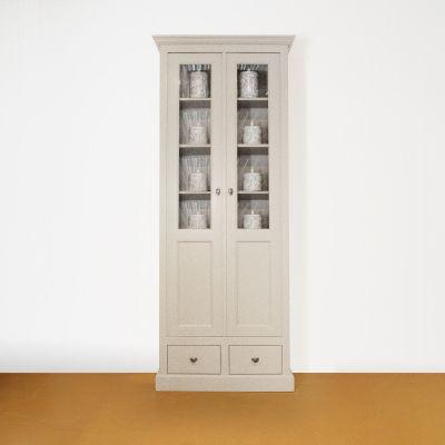 Vitrinekast 2 deurs